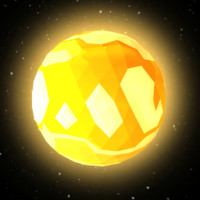 planets sun mercury 3D model