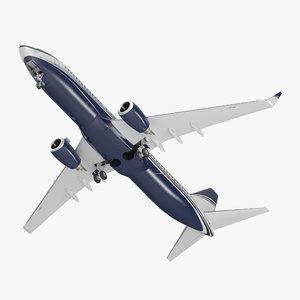 boeing 737-800 generic 3D model