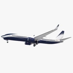 3D boeing 737-900 generic