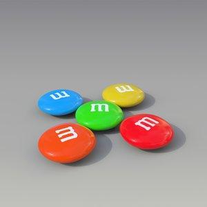 dragee m s 3D model