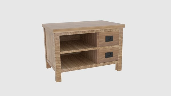 3D lifestyle tv cabinet small