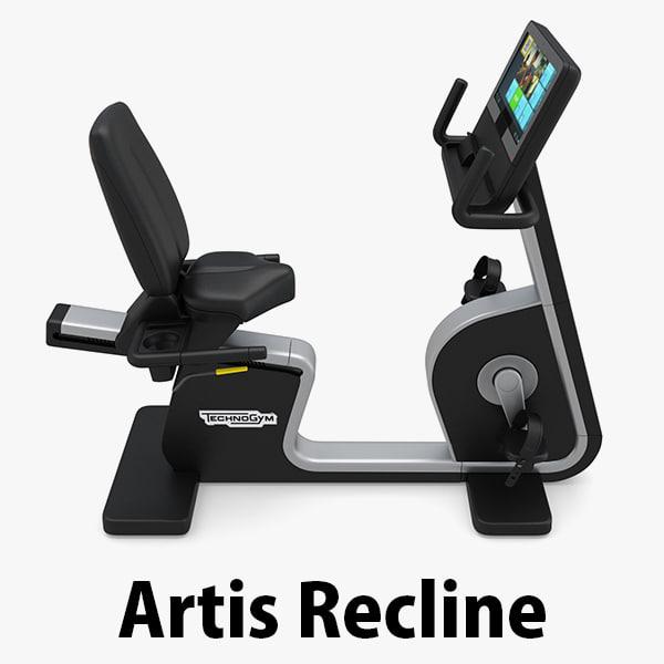 - eb artis recline 3D model