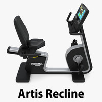- eb artis recline 3D model