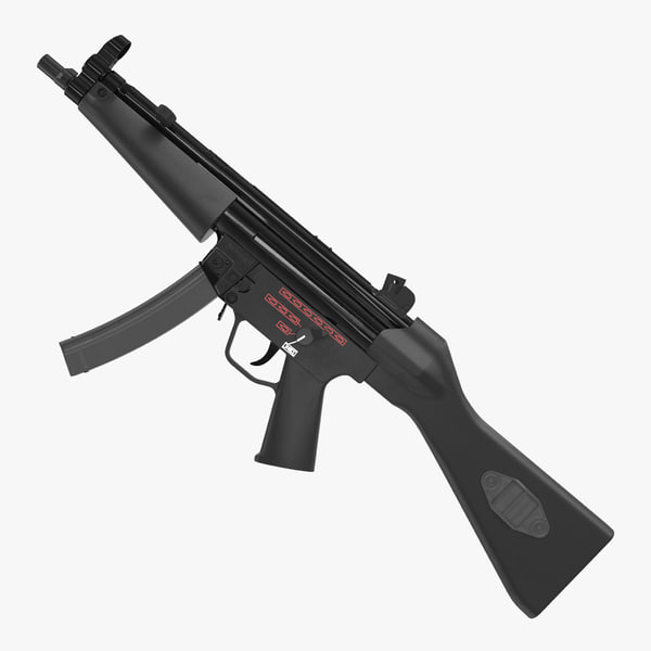 mp5 smg german submachine gun 3D