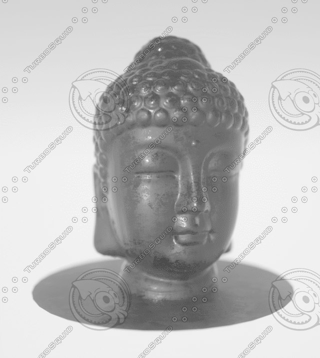 resolution buddha model