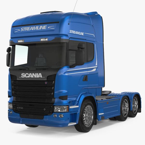 scania streamline truck 3D model