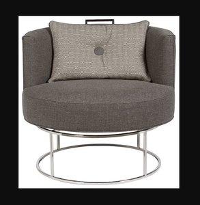 3D model vanguard roxy swivel chair