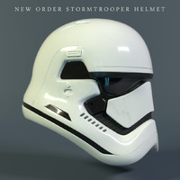 new stormtrooper helmet star wars 3D