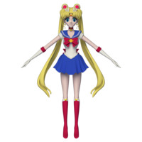 3D sailor moon