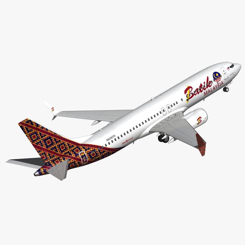 boeing 737 batik air model