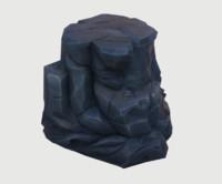 3D volcanic rock