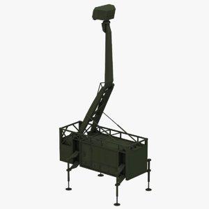 3D giraffe amb radar