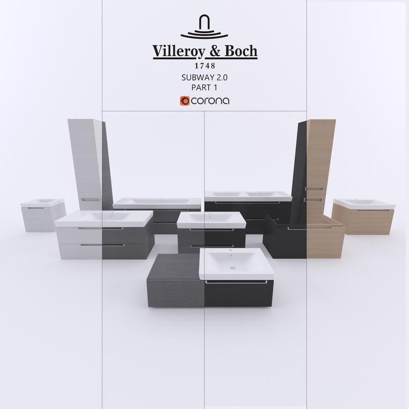 3D furniture boch model