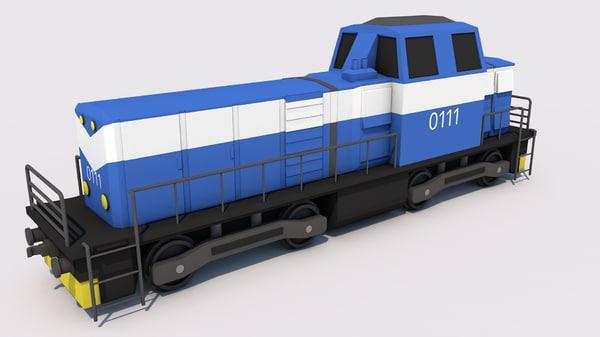 train cargo model