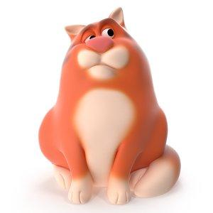 fat cat 3D