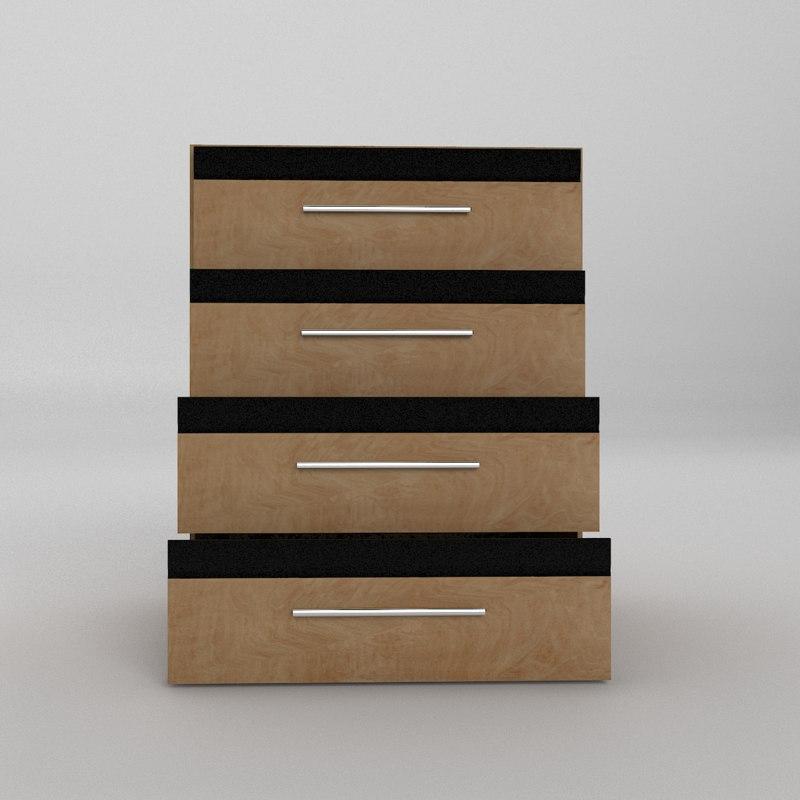 3D furniture wood