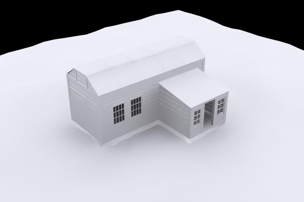 house stalker 3D model