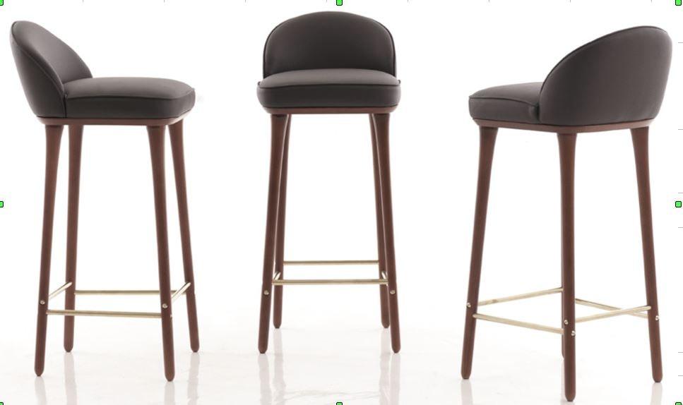 3D cushion bar stool model