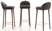 3D cushion bar stool model