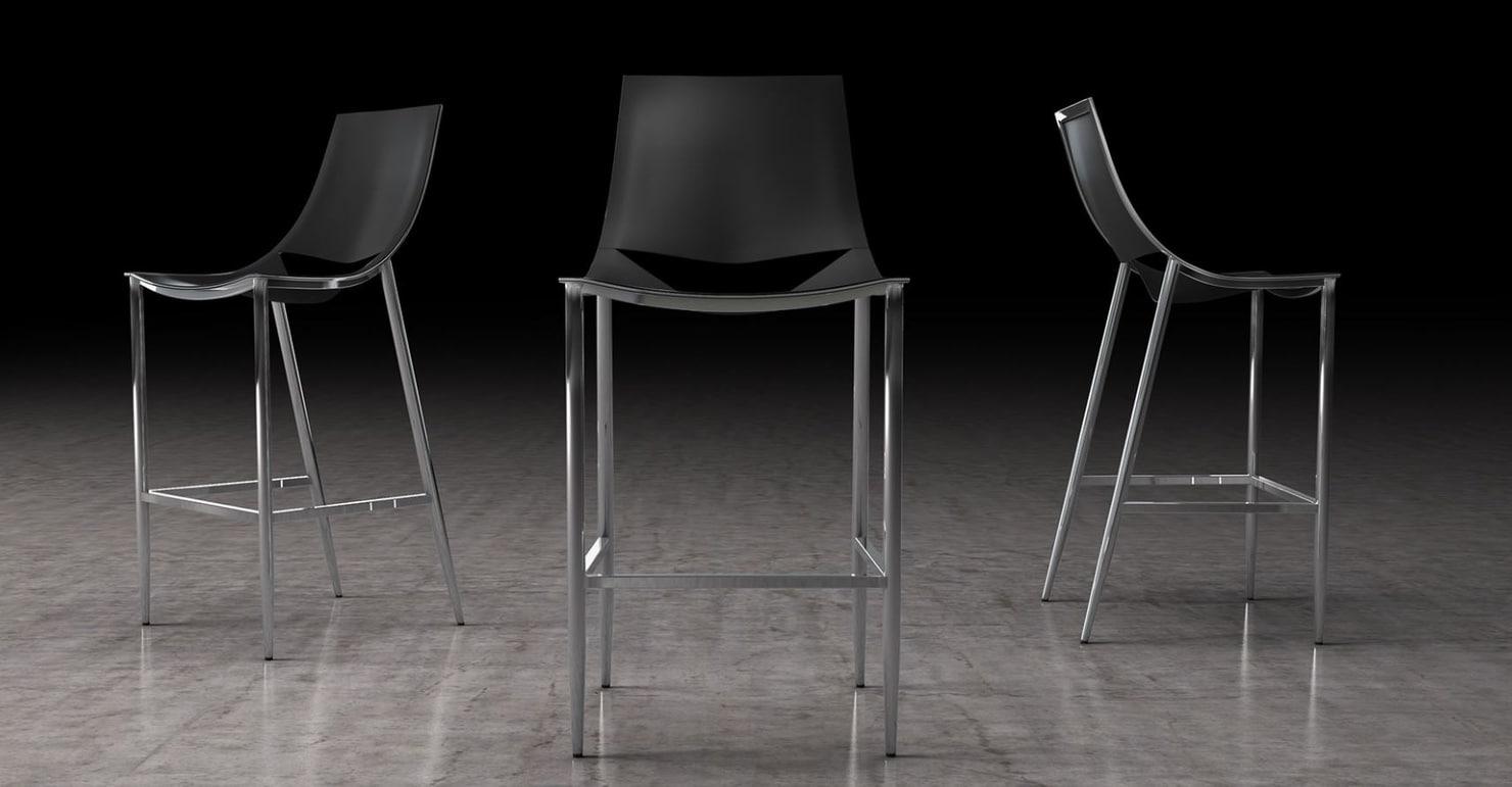 bar stool swoop 3D