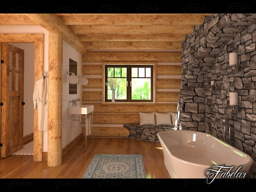 bathroom scene model