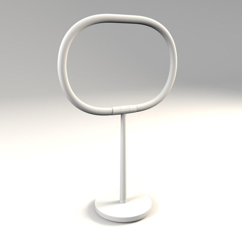 3D artemide - halo lamp