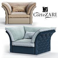 cortezari tiago armchair 3D model