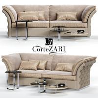 3D cortezari tiago sofa
