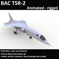 3D bac tsr-2