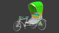 Rickshaw (3 Wheeler)