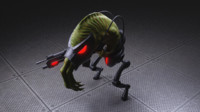 3D slig abbes oddysee model