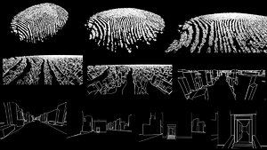 3D fingerprint city