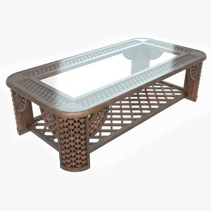 3D model classic coffee table