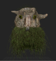 3D tree man model