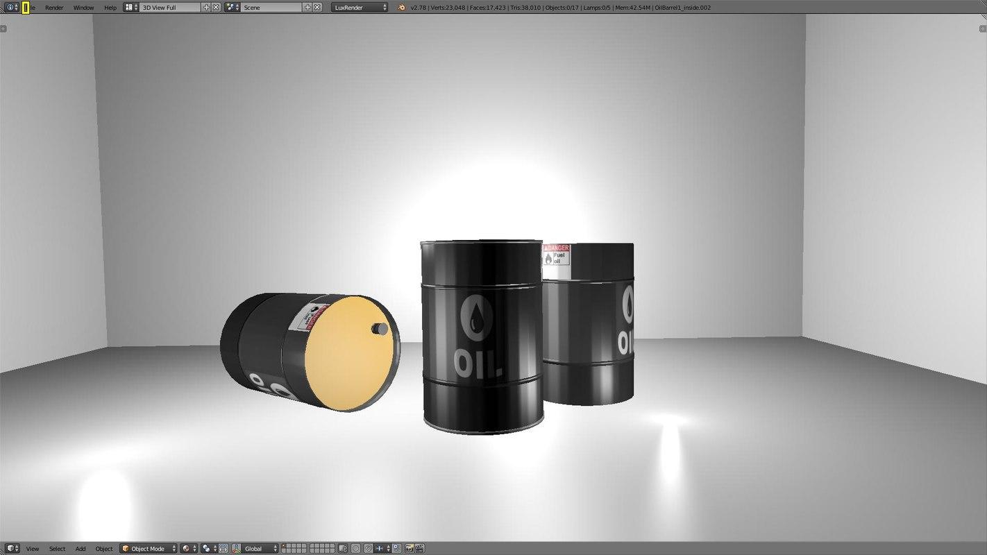 3D oil