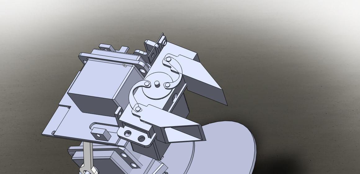 3D model kit robotic arm