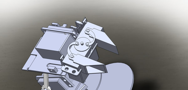 3D model kit robotic arm