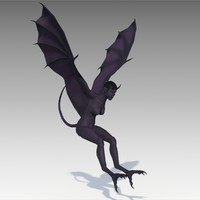 3D harpy animations