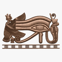 egyptian wadjet egypt 3D model