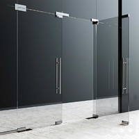 Fittings for glass doors structures Dorma
