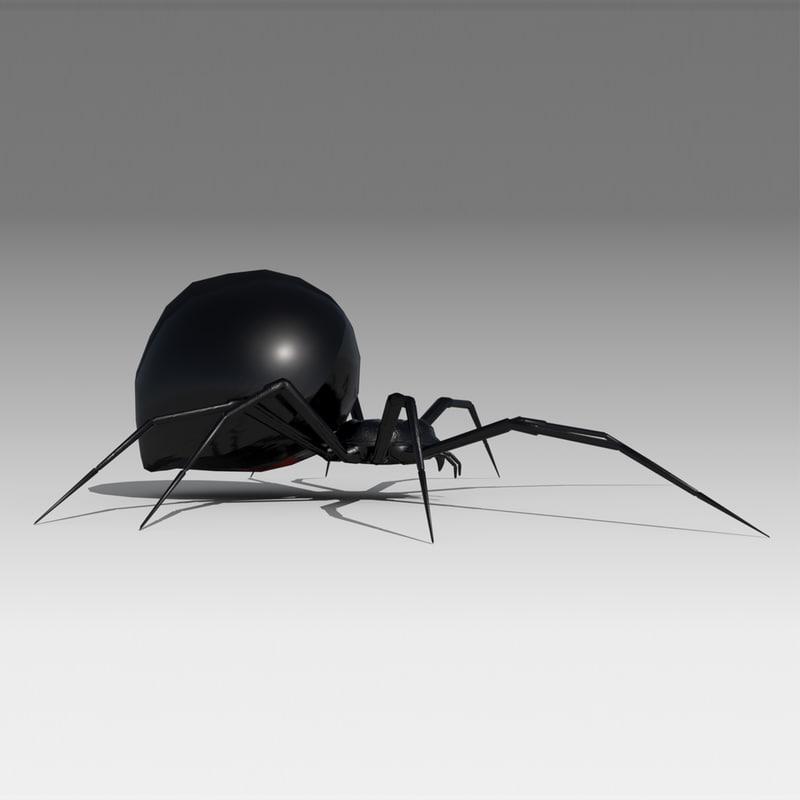3D model black widow