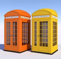 3D classical width british phone