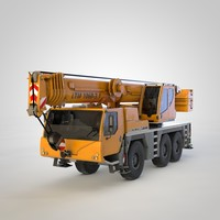 Liebherr truck crane (+Cabine)