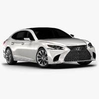 3D 2018 lexus ls 500