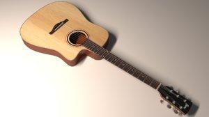 3D ibanez acoustic guitar