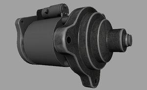 starter motor model