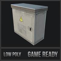 3D utility box 01