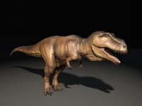 3D giganotosaurus model