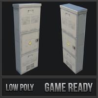 utility box 03 3D model