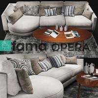 3D sofa fama opera model